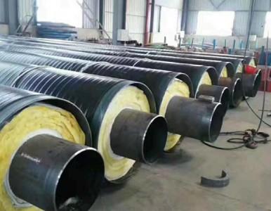 保温钢管,钢套钢复合保温螺旋管【沧州市管都管道】