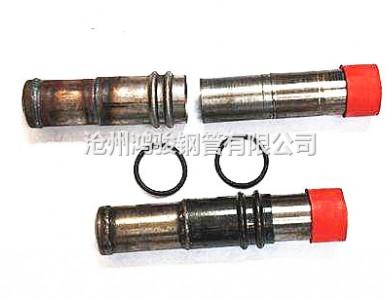 现货直供50*2螺旋式声测管 54*1.8钳压式声测管厂