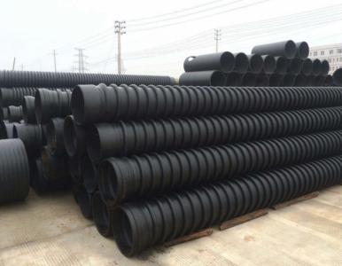 湖南HDPE克拉管B型缠绕管结构壁增强管的设计注意事项