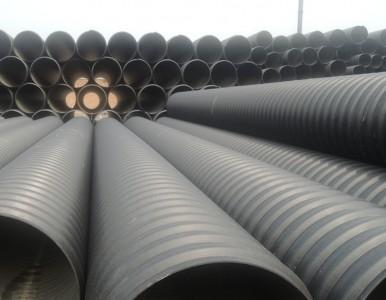湖南永州扩口承插钢带管扩口钢带管HDPE钢带管厂家