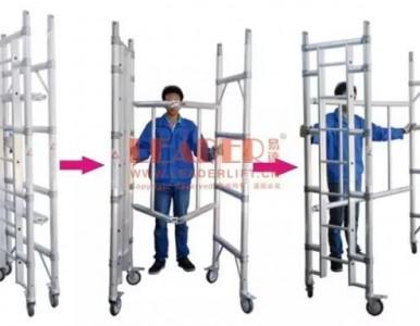供应折叠式脚手架 收藏体积小 易于搬运及仓储成本极低