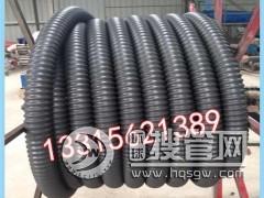 单壁碳素波纹管 PE碳素管 碳素螺纹管