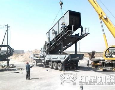 有了移动式矿石破碎机环保问题不用愁LYJ81