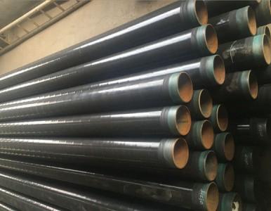 X46螺旋管加强级3pe防腐燃气管道