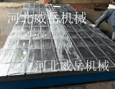 为什么大型铸铁平台会广泛应用到机加工中成为必备之选?