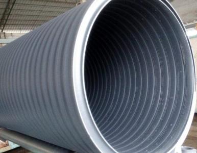湖南中空壁缠绕管增强管湖南生产厂家PE井筒管大量现货