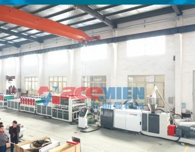 中空塑料模板生产线、中空建筑模板生产线