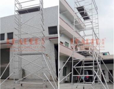 移动脚手架 7.5m直爬梯 铝合金门式脚手架 品质可靠