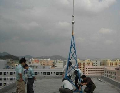 建筑物避雷检测