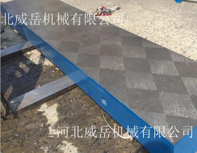 铸铁划线平台的硬度是否关系着平台的使用寿命呢?