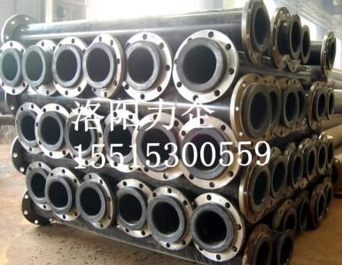 厂家供应耐磨碳钢衬胶管道、尾矿输送管道