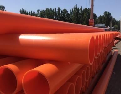 陕西锦州轩驰牌MPP电力管厂家直埋管顶管区别与应用