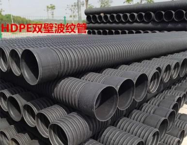 湖南怀化HDPE钢带管螺旋增强缠绕管聚乙烯带钢波纹管