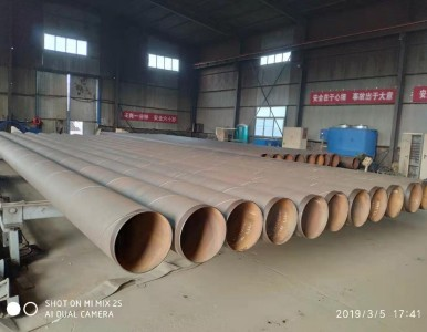 陕西燃气改造3pe防腐无缝钢管-L245N包钢管线钢psl2