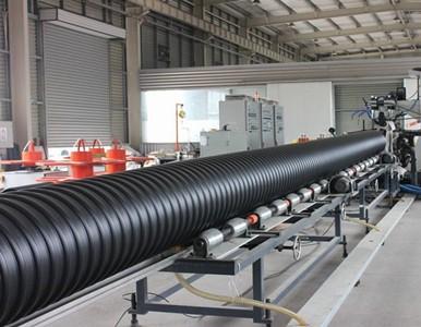 钢带增强螺旋波纹管生产线设备