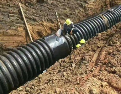 塑钢缠绕管热收缩套DN300
