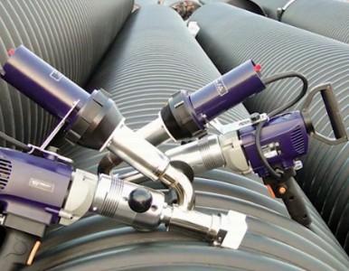 PE管焊枪塑料管道热熔挤出焊接机