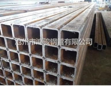 现货供应沧州直缝方矩管非标方管 深加工钢结构方矩管