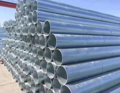 内蒙热镀锌直缝焊管镀锌管螺旋管方矩管防腐保温管厂家