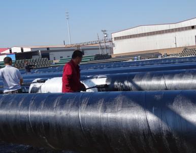 安徽3油2布防腐螺旋钢管生产厂家