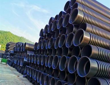 湖南HDPE双壁波纹管市政管道排污管优于水泥管