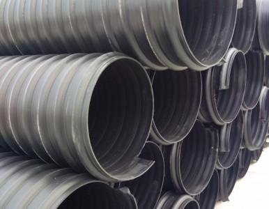 湖北黄石市HDPE钢带管钢带增强缠绕管聚乙烯钢带管请放心购买