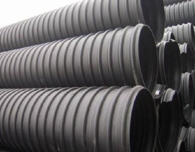 湖南长沙HDPE双壁波纹管排污管增强缠绕管现货