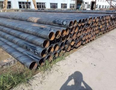 河北螺旋焊管3油2布防腐管