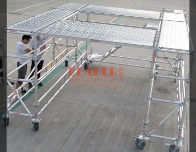 跨障碍施工作业移动平台 桥梁脚手架 灵活多变 安全便捷