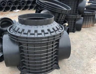 湖南塑料检查流槽直通井和砖砌井哪个施工方便些