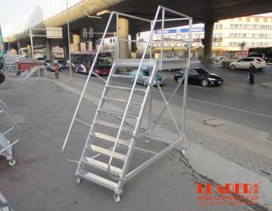 厂家直销铝合金移动平台仓库货梯登高梯仓库安全理货梯