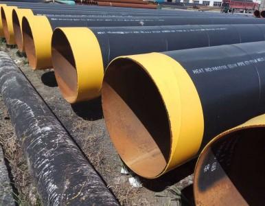 河南小口径螺旋管污水管道-3油2布防腐管