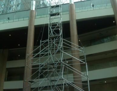 移动式高空作业平台 安全脚手架 高层建筑室内大厅专用
