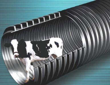 厂家直供+HDPE钢带增强螺旋波纹排水管