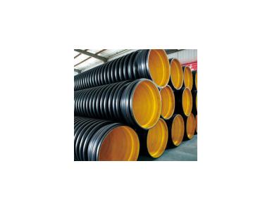 厂家直供+HDPE缠绕结构壁B型管(克拉管)