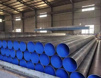 单层环氧粉末螺旋管-输水管道